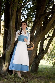 Beautiful Belle cosplay from Beauty and the Beast. - 10 Belle Village Dress Cosplays