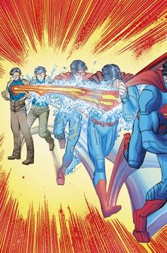 Preview: SUPERMAN #32 - GEOFF JOHNS & JOHN ROMITA Jr's Debut | Newsarama.com