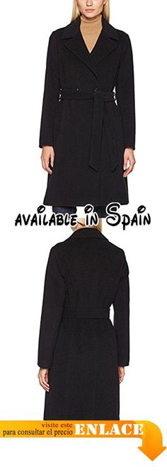 B06XJBB1BH : Daniel Hechter Coat Abrigo para Mujer Negro (Black 990) 38.