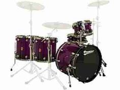 Purple drums