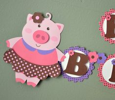 Pig Birthday Farm Birthday Barnyard Birthday by bcpaperdesigns, $25.00