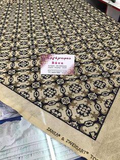 Beaded Embroidery, Cross Stitch Embroidery, Cross Stitch Patterns, Cross Stitches, Hgtv, Fabrics, Tablecloths, Farmhouse Rugs, Cross Stitch