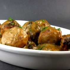 Swedish Meatballs - A Scandinavian Festival for Foodie Friday