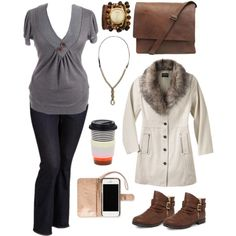 """""""Plus size style. On the go..."""" by hamtowntracey on Polyvore"""