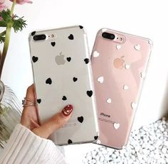 Ins fashion girly love heart tpu clear soft phone case cover for iphone x 6 Diy Iphone Case, Floral Iphone Case, Iphone 7 Plus Cases, Iphone Phone Cases, Capas Iphone 6, Et Wallpaper, Girly Phone Cases, Accessoires Iphone, Phone Gadgets