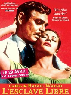 BAND OF ANGELS (1957) - Clark Gable & Yvonne De Carlo - Directed by Raoul Walsh - Warner Bros. - French movie poster.