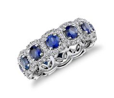 The most popular form of sapphire is blue, but you can get 'fancy' sapphires in other colours. #interestingfact #Jewellery #Blue #Sapphire