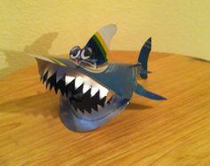 Bud Light Shark Week Can model CUSTOM Metal Tin Sign Neon Ornament decora