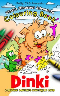 Putty CAD: Dinki's Dinosaur Adventure Colouring Book OUT NOW!...