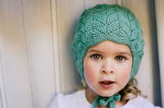 PDF Knitting Pattern to Knit Your Own Hat at Home - Little CLOVER Earflap Hat NB to 4/5 Years