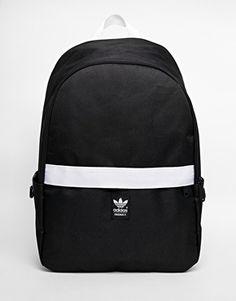 adidas Originals Backpack with Contrast Zip Adidas Rucksack 8f33cd6dd8ae7