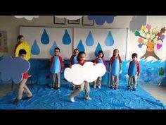 Su Damlasının Serüveni - YouTube Science Activities For Kids, Creative Activities, Waldorf Preschool, Water Day, Water Cycle, School Decorations, Kids Education, Crafts For Kids, Classroom