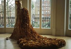 Artist Susan Stockwell has been creating these wearable art installations for over a decade.