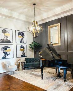 Piano Room, Gallery Wall, Google Search, Home Decor, Decoration Home, Room Decor, Home Interior Design, Home Decoration, Interior Design