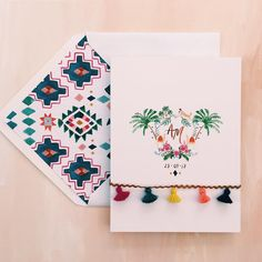Moroccan inspired Wedding Stationery by Rosie Harbottle Beautiful Wedding Invitations, Custom Wedding Invitations, Wedding Stationary, Stationery Design, Invitation Design, Marrakech, Moroccan Wedding, Festival Wedding, Illustrations