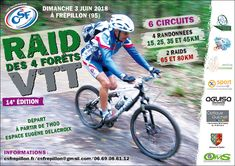 Raid des 4 Forêts VTT, https://chti-sportif.fr/calendrier/raid-des-4-forets-vtt-2018/