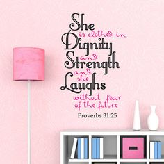Bible wall decals quotes  Proverbs 3125 by ChristianWallArt, $19.99
