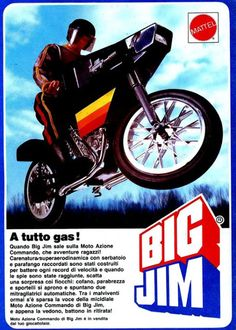 2_big-jim Gi Joe, Action Toys, Action Figures, Big Jim, 1970s Childhood, Dog Barking, Ghostbusters, Vintage Italian, Vintage Toys