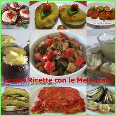 Raccolta di ricette con le melanzane