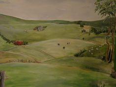 Art in Residence - Rufus Porter inspired Rural Chester County Farmland