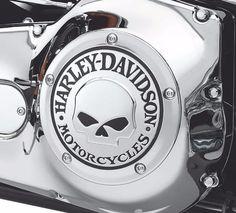Willie G Skull Front Fender Skirt Road Glide Accessories