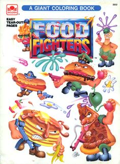 food fighters.. classic late 80's early 90's action figures
