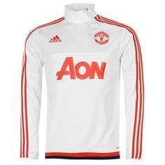 adidas | adidas Manchester United FC Training Top Mens | Manchester United FC