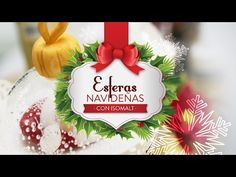 Esferas navideñas (Con Isomalt) - YouTube