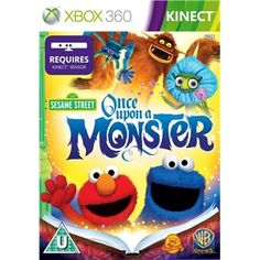 Kinect: Sesame Street - Once Upon a Monster  If get kinnect £9.99  Extra