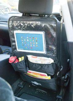 Organisateur BTR pour poussette voyages siège arrière de voiture avec support multimédia tablette lecteur DVD