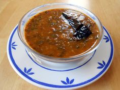 Delicious and healthy Palak dal side dish.