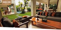 Villa Shinta Dewi Petitenget Seminyak - The Rooms Page