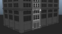 """115 Madison Avenue in the Style of """"The Division"""" - Polycount Forum"""