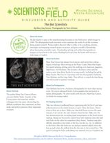 The Bat Scientists Common Core Discussion & Activity Guide (Grades 5-8) https://www.teachervision.com/nonfiction/printable/74988.html #nonfiction #mammals