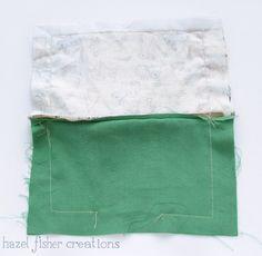 Rabbit zip pouch sewing tutorial hazelfishercreations