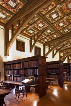 Duke Humfrey's Library - The Bodleian