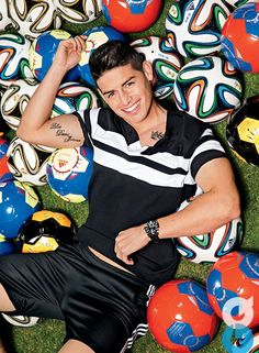 James David Rodríguez Rubio (born 12 July 1991) is a Colombian professional footballer who plays for Spanish club Real Madrid and the Colombia national team.
