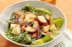 Ranch Salad with Roasted Vegetables recipe