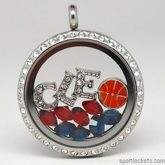 Cleveland Cavaliers Cavs basketball locket necklace – SportLockets.com