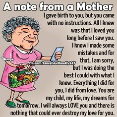 A Note From A Mother funny quotes quote kids mom mother family quote family quotes funny quotes children mother quotes quotes for moms quotes about children My Son Quotes, My Children Quotes, Mommy Quotes, Quotes For Kids, Family Quotes, Wisdom Quotes, Funny Quotes, Quotes Quotes, Child Quotes