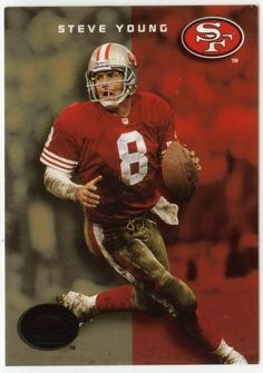 Steve Young # 33 - 1993 SkyBox Premium Football