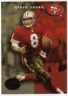 Steve Young # 33 - 1993 SkyBox Premium Football