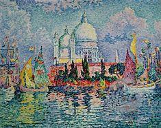 Paul Signac, Grand Canal, Venice.
