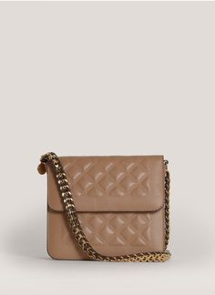 Stella McCartney - Quilted faux-leather shoulder bag | Neutral and Brown Day Shoulder Bags | Womenswear | Lane Crawford - Shop Designer Brands Online