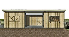 Hunter Custom Designed Stables from Outpost Buildings