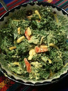 Raw, Vegan, Paleo Kale Salad Recipe - World Vitae