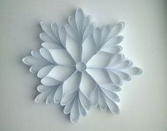 59 Ideas Simple Christmas Tree Snow For 2019 Christmas Makes, Simple Christmas, Christmas Crafts, Christmas Decorations, Christmas Tree, Full Mehndi Designs, Paper Quilling Patterns, Snow Flakes Diy, How To Make Paper Flowers