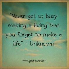 Enjoy your life! #inspirational