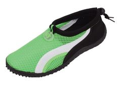 Starbay  Womens Athletic Water Shoes Aqua Sock Green White 379167BMUS -- Details can be found by clicking on the image.Note:It is affiliate link to Amazon.
