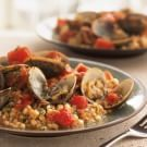 Try the Sardinian Couscous with Clams and Tomatoes Recipe on williams-sonoma.com/